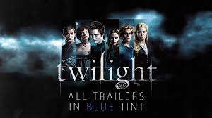 twilight saga all trailers in blue tint twilight new moon