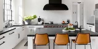 grey kitchen cupboards with black worktop 26 gorgeous black white kitchens ideas for black white