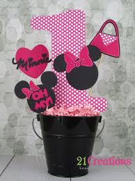 Centerpieces For Minnie Mouse Party by 110 Best Minnie Mouse 6 Years Old Images On Pinterest 2nd