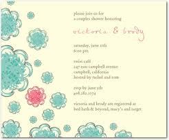 couples wedding shower invitation wording sle bridal shower invitation cloveranddot