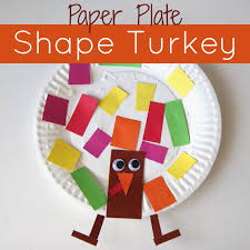 paper plate shape turkey craft toddler approved children s