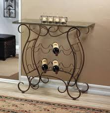 organizer wrought iron wine racks wrought iron wine rack table