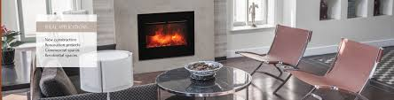zero clearance series amantii electric fireplaces