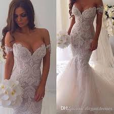beaded wedding dresses 2016 mermaid shoulder plus size beaded wedding dresses