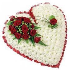 heart wreath closed heart wreath