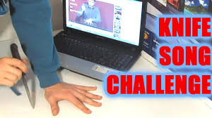 Challenge Water Drop Knife Song Challenge Water Balloon Drop Cd Bubbles Top