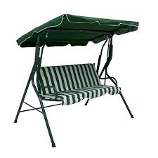 garden swing bench chair for 3 person 52 99 oypla stocking