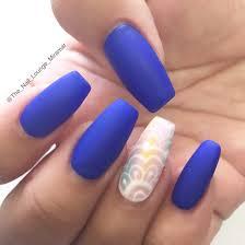 coffin shaped matte ombré nail art design nail art pinterest