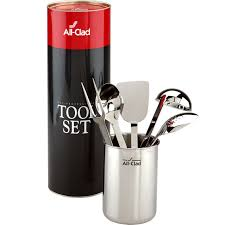 all clad stainless steel 6 pc kitchen tool set all clad more