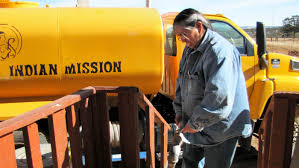 for many navajo a visit from the u0027water lady u0027 is a refreshing