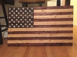 the 25 best rustic wooden american flag ideas on