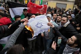 Israels Flag Burning Of Israeli Flags At Berlin Demo U0027disgraceful U0027 Says