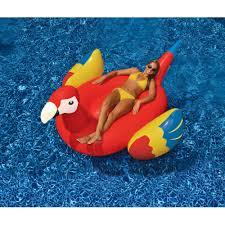 Plastic Swimming Pools At Walmart Intex Inflatable Mega Yellow Duck Island Float Walmart Com