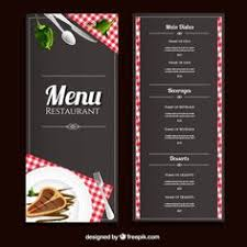 pizza menu design a4 size and flyer layout template restaurant