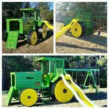 John Deere Tractor Bunk Bed John Deere Tractor Play Set Adorable Color Options Available