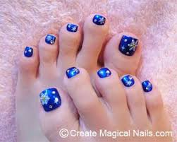 winter toe nail art designs ideas for girls 2013 2014 2 jpg 400