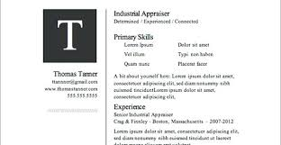 Word Document Templates Resume Resume Templates In Word Document 100 Images Free Resume