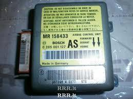 airbag control unit mr1584 mitsubishi carisma eur4452