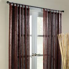 amazon com brylanehome bamboo tab top panel antique brown 42
