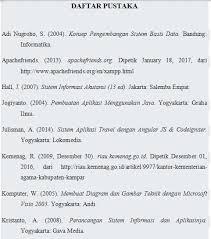 daftar pustaka merupakan format dari cara membuat daftar pustaka otomatis dunia teknik secercah ilmu