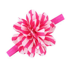 big flower headbands tonsee design striped big flower headbands children elastic