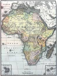 the map of africa various maps showing how big africa is