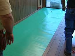 laminate flooring installation installing underlayment airbase