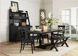 Liberty Furniture Dining Room Sets Lake Trestle Table 5 Piece Dining Set In Dark Molasses Finish By