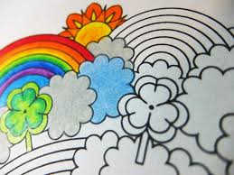 st patricks day candyhippie coloring pages