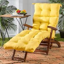Yellow Chaise Lounge Cushions Yellow Outdoor Chair Pads U0026 Cushions Home Decor Kohl U0027s