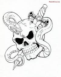 skulls drawings pesquisa google quadros pinterest tattoo