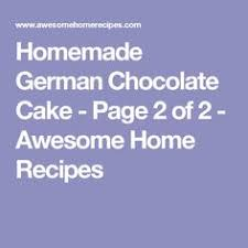when german chocolate cake first came out it was a challenge for
