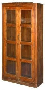 bookcases with glass doors ebay antique display casecabinet table