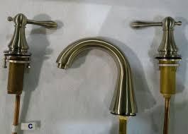 Pegasus Bath Faucet Pegasus Widespread Bathroom Faucet 570 460 Brushed Nickel 7000