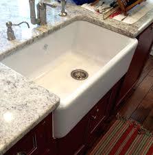33 inch white farmhouse sink kitchen sink for 33 inch cabinet sinks inch farmhouse sink white