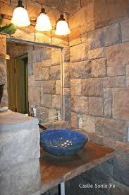 Stone Bathroom Ideas Bathroom Daltile Mesquite Grey Stone Sink White Stone Tile
