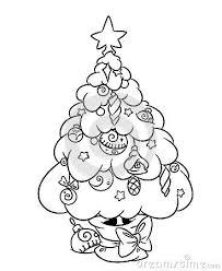 25 cartoon christmas tree ideas christmas