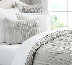 Pottery Barn Down Comforter Camille Duvet Cover Full Queen White Duvet Bedrooms And