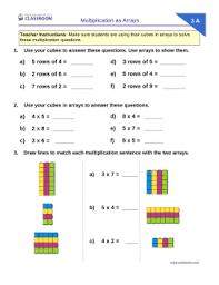 professor pete u0027s classroom multiplication as arrays turnaround
