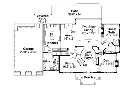floor plans with inlaw apartment colonial house plans houseplans com with porch hahnow
