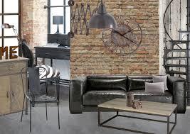 cuisine style loft glänzend objet deco industriel haus design