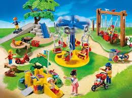 playmobil city life children u0027s playground 159 pieces toys