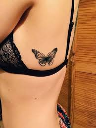 picture of butterfly on the left side