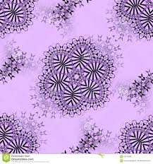 seamless floral ornaments black silver gray purple stock