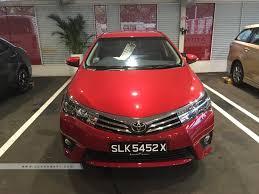lexus parallel importers singapore 2017 toyota corolla altis 1 6a photos u0026 pictures singapore sgcarmart