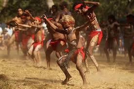white wolf dreamtime traditional australian aboriginal