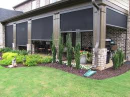 Motorized Screens For Patios Motorized Patio Shades Beat The Heat Shading Systems