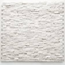 Stone Mosaic Tile Backsplash by Solistone Modern Opera 12 In X 12 In X 9 5 Mm Marble Natural