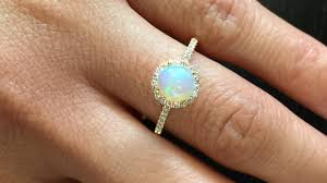 vintage opal engagement rings vintage opal engagement rings meanings on opal engagement rings