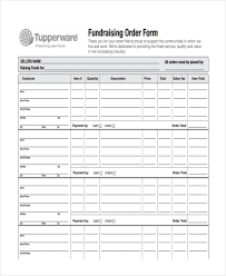Fundraiser Order Form Template Excel Sales Order Template Exle 8 Sap Sd Business Blue Print E1